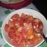 Insalata di pomodori dell'antipasto