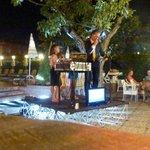 Piero on Karaoki night