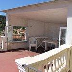 Vista della parte Privata della veranda....