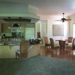 interior shot of the condo