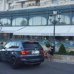 Il ristorante visto dalla Place du Casino