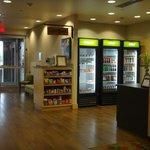 Lobby snacks area