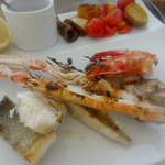 Grillade mixte poisson fruit de mer (top)