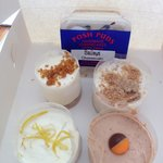 Cheesecake from Posh Puds, Benllech
