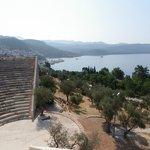 vue du théâtre antique