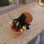 Yogurt Grande frutta e cioccolato fondente