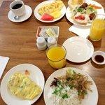 St. Mark Hotel Breakfast buffet