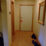 Lily Lodge room, Windsong Lodge, Seward - entrance are