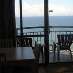 Ocean Front Balcony (room 1204)