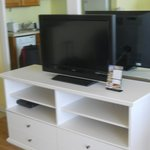 Entertainment Center in the living room (Room 1204)