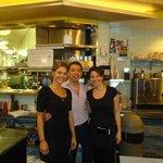 staff+proprietario! Andrea,la prima da destra,è fantastica!!!!