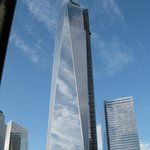 The new  WTC still being built