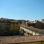 Ponte Vecchio vue du roof garden