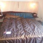 Le lit d'une suite junior (2 lits collés)