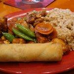 Combo Kung Pao Chicken