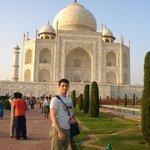 Visita ao Taj Mahal
