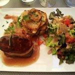Magret et foie gras poêlé ! Miam !!!