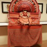 Museum exhibit - represents Theyyam, traditional temple performer