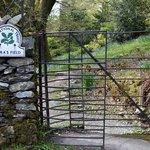 Entrance Gate near Church