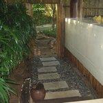 Entrance Our Villa