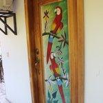 Parrot Room Door