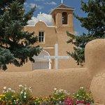 Beautiful 200 year-old church in Taos.