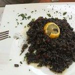 risoto noir aux calamars