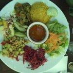 assiette du tchai