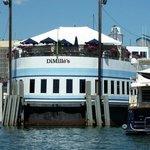 floating restaurant on Commercial Street