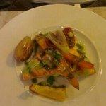 saumon legumes de saison
