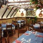 Inside of the restaurante