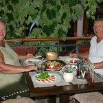 Ужин в ресторане Савина