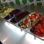 great salad bar choice to add to your felafel sandwich or salad