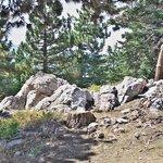 Rock formation near Summit Haus