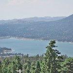 Big Bear Lake from a location near Summit Haus