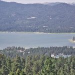 Bit Bear Lake from a chair lift