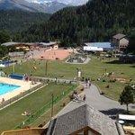 vue de la terrasse du club vacances