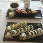 Delicious makis ans sushis