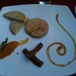 médaillon de foie gras du moulin de ponceau: excellent ( août 2013)
