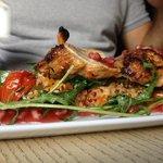 chicken, bulgar & pomegranate