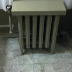 The antique radiator