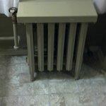 The antique radiator