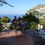 terrazza panoramica in cui fare colazione