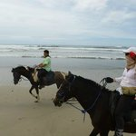 Plume et Thiefaine a Playa Pelada