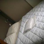 Chambre à coucher, avec le grand lit