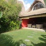 Vue de la Villa Red