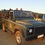 Camionete para o safari