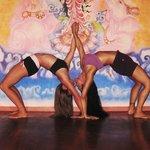 Laura Kay & I, at Bocas Yoga