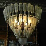 Bottle Chandelier in 'J' Bar