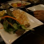 Delcious grilled sea bass